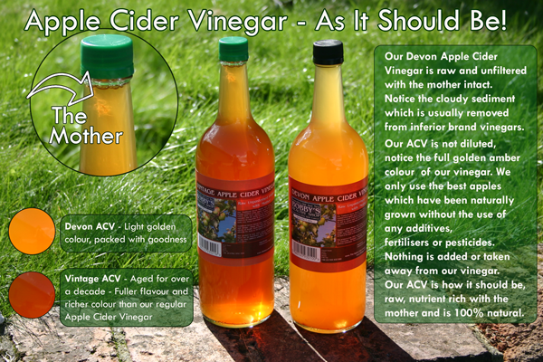 Apple Cider Vinegar Comparison