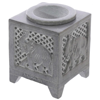 Thumb: Amour Natural Oil Burner Soapstone Elephant
