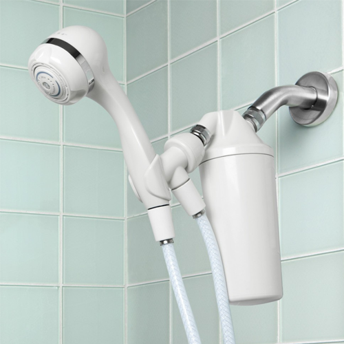 aquasana aq 4105 shower filter with handheld shower head. Black Bedroom Furniture Sets. Home Design Ideas