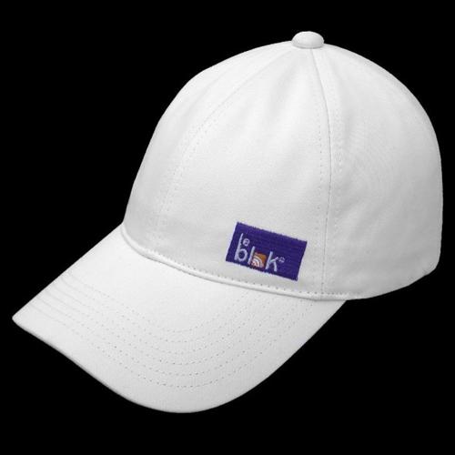 EMF Protection Cap by Leblok - Baseball Style - White