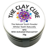 Thumb: Clay Cure Tooth Powder Charcoal 70g