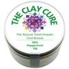 Thumb: Clay Cure Tooth Powder Cool Breeze Peppermint 70g