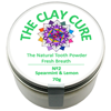 Thumb: Clay Cure Tooth Powder Spearmint Lemon 70g Thumbl