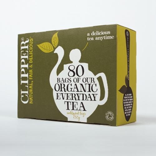 clipper organic tea 80 everyday tea bags. Black Bedroom Furniture Sets. Home Design Ideas