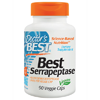 Thumb: Doctors Best Serrapeptase 90 Vcaps