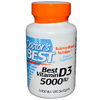 Thumb: Doctors Best Vitamin D3 180 5000IU Softgels