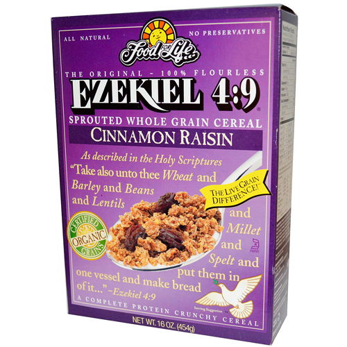 Ezekiel 4-9 Sprouted Whole Grain Cereal