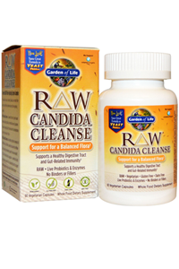 Raw candida cleanse 60 veggie caps by garden of life for Garden of life raw cleanse reviews