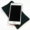 Thumb: Mobloc Tartan with Phone