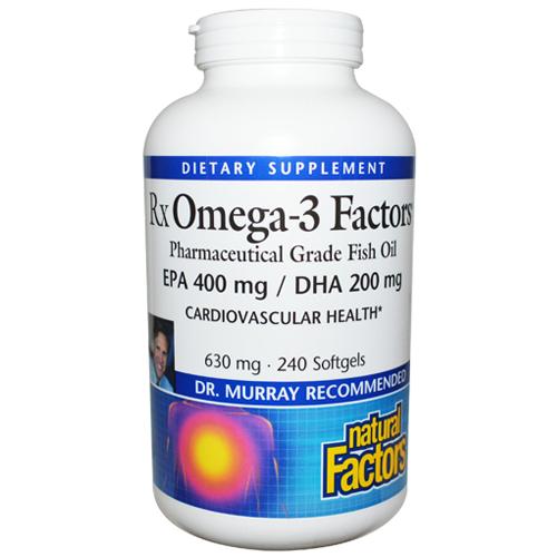 Natural Factors Omega  Fish Oil Review