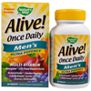 Thumb: Natures Way Alive! Once Daily Men's Multi Vitamin 60 Tabs