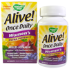 Thumb: Natures Way Alive! Once Daily Womens Ultra Potency Multi Vitamin 60 Tabs