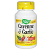 Thumb: Natures Way Cayenne & Garlic 100 530mg Caps