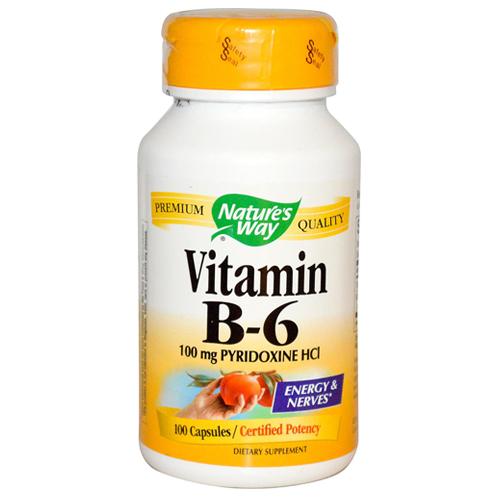 Vitamin B6 (Pyridoxine) - 100 - 100mg Capsules