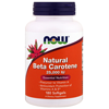 Thumb: Now Foods Natural Beta Carotene 25000IU 180 Softgels