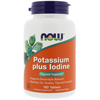 Thumb: Now Foods Potassium Plus Iodine 180 Tablets
