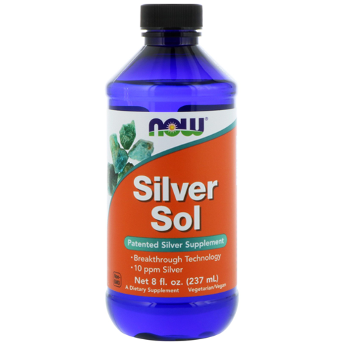 Silver Sol 8fl Oz 237ml By Now Foods Silver Supplement