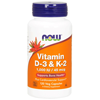 Thumb: Now Vitamin D3 & K2 120 1000iu 45mcg Vcaps