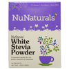 Thumb: NuNaturals, NuStevia, White Stevia Powder, 100 Packets